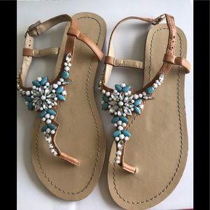BCBGeneration Jeweled Sandals